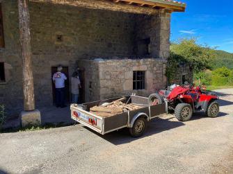 transport dechets de chantier
